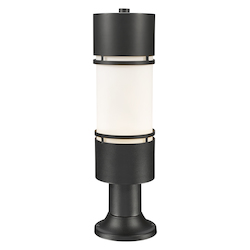 Z-Lite Outdoor Led Post Mount Light With Pier Mount