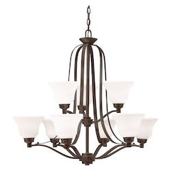 Kichler Chandelier 9Lt Led