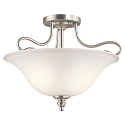Kichler Semi Flush 2Lt Led