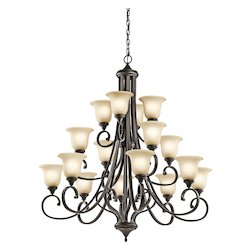 Kichler Chandelier 16 Lt Led