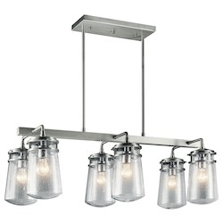 Kichler Outdoor Linear Chandelier 6Lt