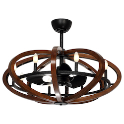 Maxim Fandelier-Indoor Ceiling Fan