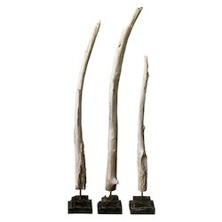 Uttermost Uttermost Teak Branches Statues, S/3