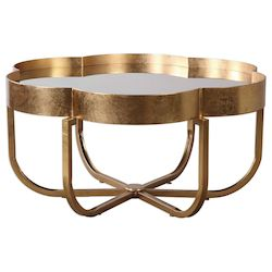 Uttermost Uttermost Cydney Gold Coffee Table