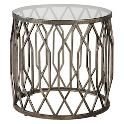 Uttermost Uttermost Algoma Glass Accent Table