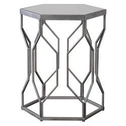 Uttermost Uttermost Stellan Iron Accent Table