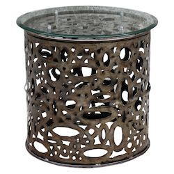 Uttermost Uttermost Zama Industrial Accent Table