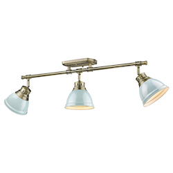 Golden Open Box Semi-Flush - Track Light