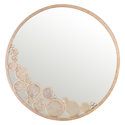 Varaluz Fascination Round Mirror