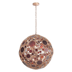 Varaluz Fascination 8-Lt Orb Pendant - Kolorado