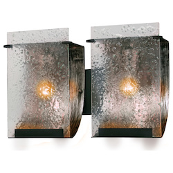 Varaluz Rain 2-Lt Bath Fixture - Rainy Night