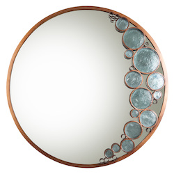 Varaluz Recycled Fascination Mirror - Hammered Ore
