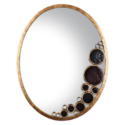 Varaluz Fascination Oval Mirror - Kolorado