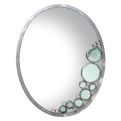 Varaluz Fascination Oval Mirror - Nevada