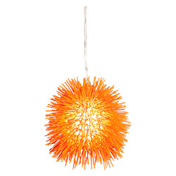 Varaluz Urchin 1-Lt Mini Pendant - Electric Pumpkin