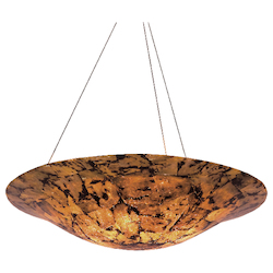 Varaluz Big 5-Lt Bowl Pendant - Chocolate Tiger