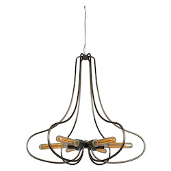 Varaluz The Whole Package 6-Lt Chandelier