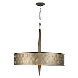 Varaluz Iconic Large 6-Lt Drum Pendant