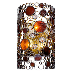 Varaluz Fascination 3-Lt Outdoor Wall Fixture