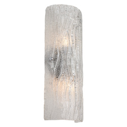 Varaluz Brilliance 2-Lt Sconce - Bright Ice