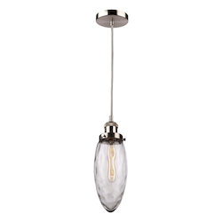 Artcraft Lux Pendant Collection Ac10710 1 Light Pendant