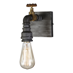 Artcraft American Industrial Ac10811 1 Light Wall Sconce