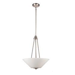 Artcraft Clayton Ac10913Bn 3 Light Chandelier