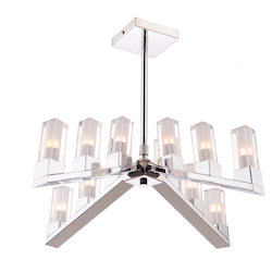 Artcraft Athena Ac10922 12 Light Chandelier