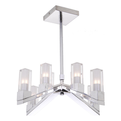 Artcraft Athena Ac10928 8 Light Chandelier