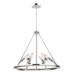 Artcraft Gravity Ac10936Ch 6 Light Chandelier