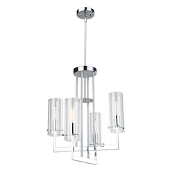 Artcraft Brinkley Ac10984 4 Light Chandelier