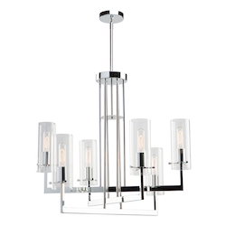 Artcraft Brinkley Ac10986 6 Light Chandelier