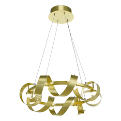 Artcraft Rolling Hills Ac7210Gd 8 Light Chandelier