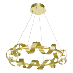 Artcraft Rolling Hills Ac7211Gd 10 Light Chandelier
