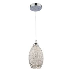 Artcraft Lux Pendant Collection Ac7370 1 Light Pendant
