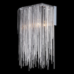 Avenue Lighting Fountain Ave. Collection Chrome Jewlery Chain Wall Sconce
