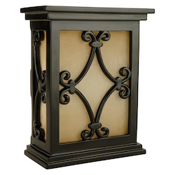 Craftmade CH1515-BK Hand-Carved Scroll Design Chime