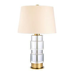 Hudson Valley One Light Aged Brass Table Lamp