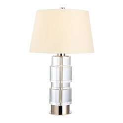 Hudson Valley One Light Polished Nickel Table Lamp