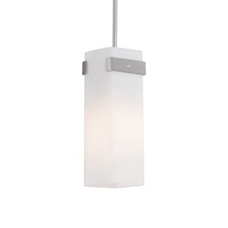 Single Lamp Pendant With Cylinder Glass