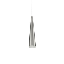 Led Pendant Sleek Conical Shape With Clear Acrylic Diffuser