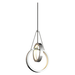 Craftmade 2 Light Chrome Led Pendant