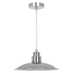 Craftmade 1 Light Chrome Mini Pendant