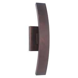 Craftmade 1 Light Aged Copper Led Pocket Sconce
