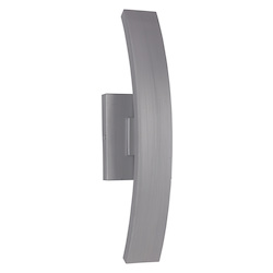 Craftmade 1 Light Brushed Aluminum Led Pocket Sconce