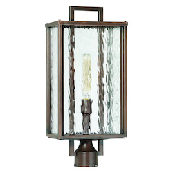 Craftmade 1 Light Aged Bronze Brushed Post Mount