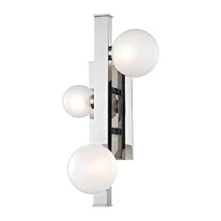 Hudson Valley 3 Light Led Wall Sconce