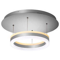 "Vonn Lighting Europa 11"" Wifi-Enabled Tunable White Color-Changing Led Pendant Ceiling Fixture"