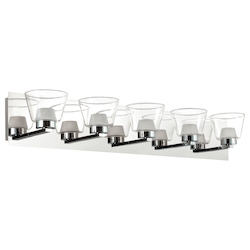 Dainolite 5Lt Led Vanity, Polished Chrome Finish