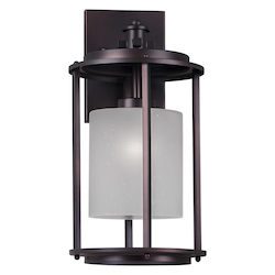 Forte 1 Light Outdoor Wall Lantern